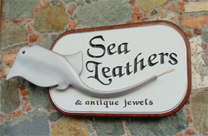 Sea Leathers & antique jewels