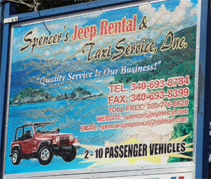 Spencer's Jeep Rental & Taxi Service