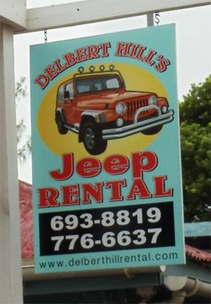Delbert Hill's Jeep Rental in Cruz Bay, in St John, USVI ...
